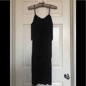 After Dark Boutique Dresses - 20's Inspired Black Cocktail Dress